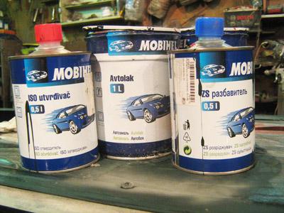 Краска Алкидная Mobihel Инструкция